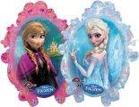Anna u. Elsa aus der Eiskönigin Folien-Ballon