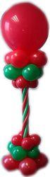 Ballon-Dekoration zu Weihnachten mit Latex-Ballons